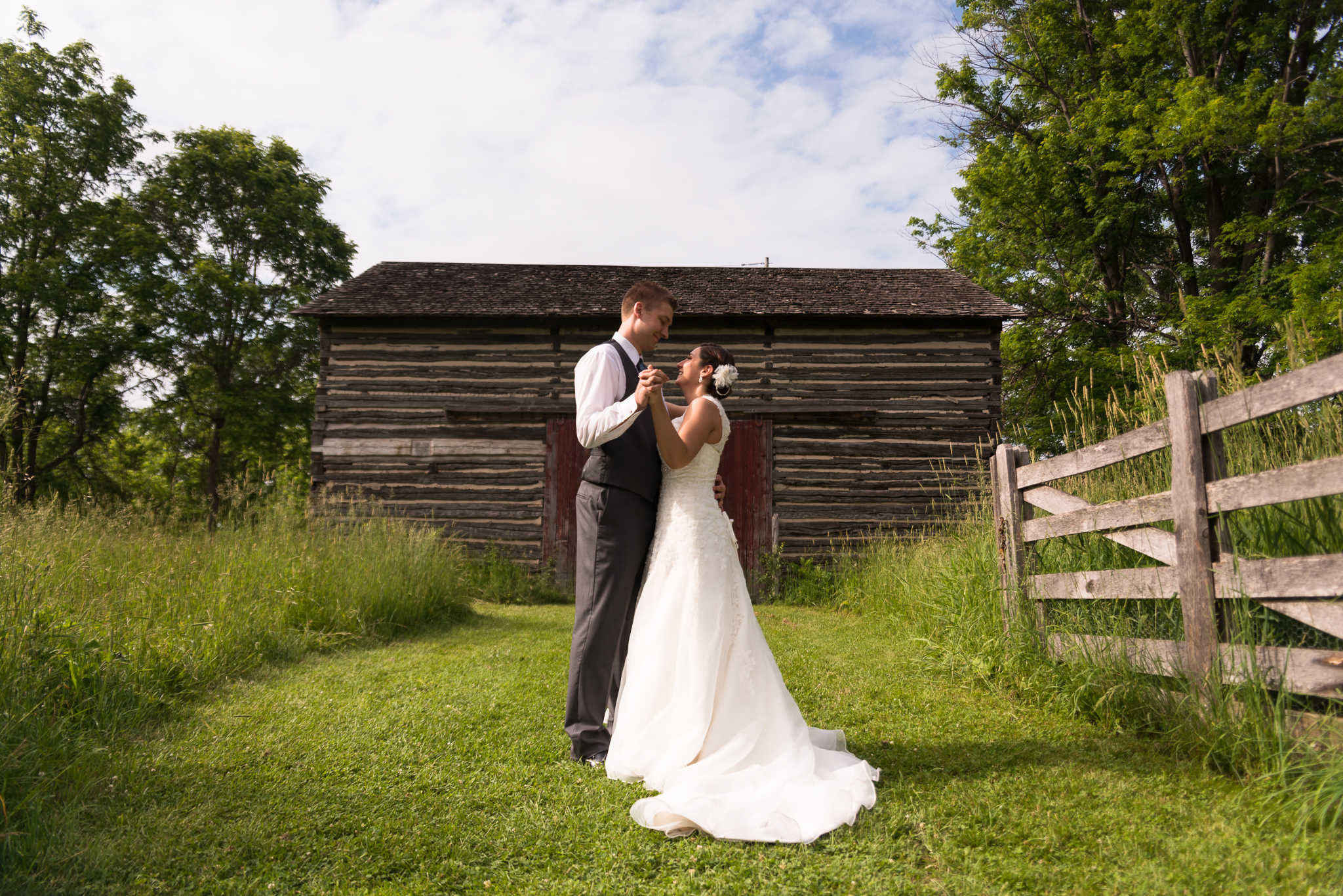 Fanshawe Pioneer Village Wedding Photo