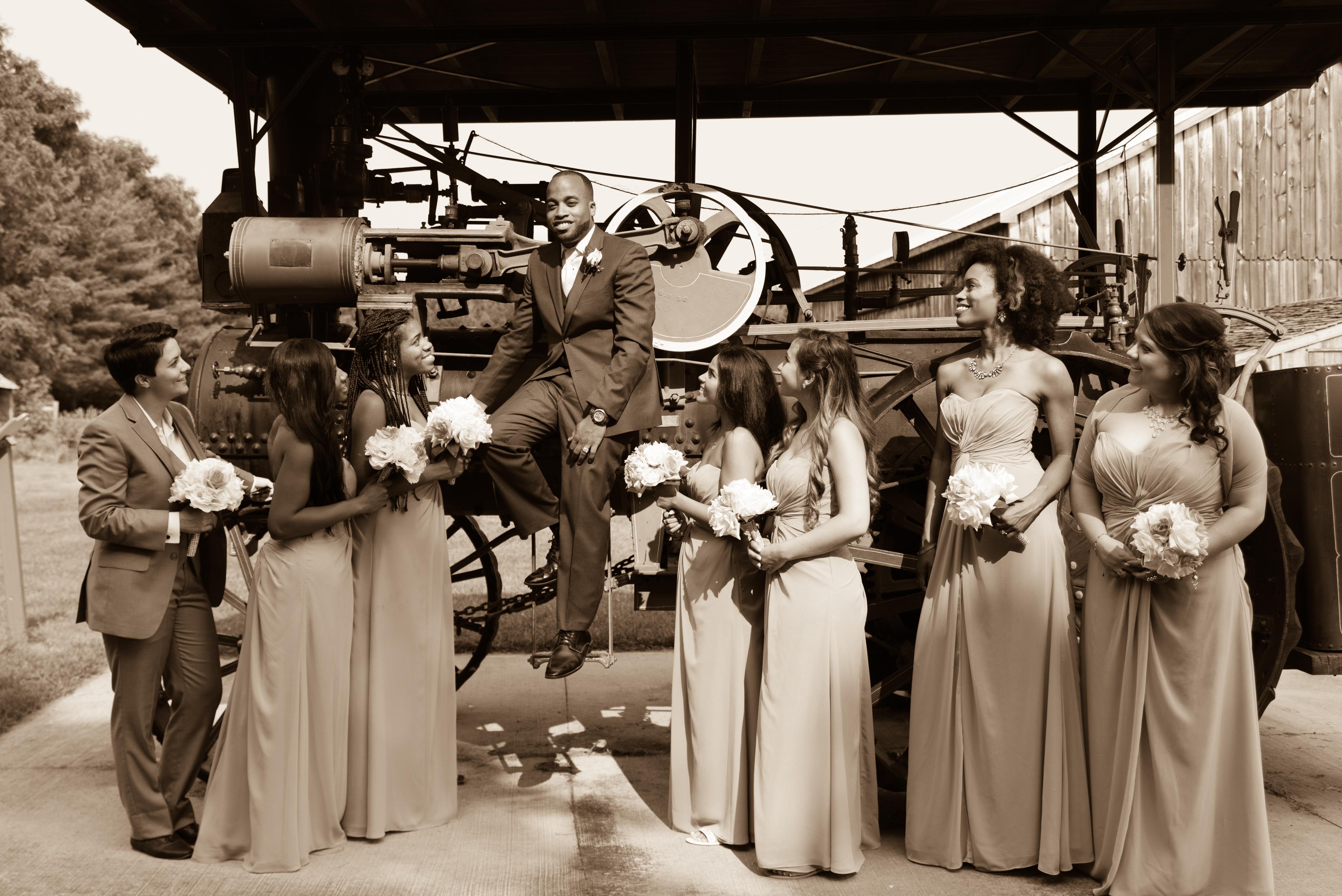 Fanshawe Pioneer Village Wedding London Ontario